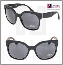 aeeca5c05983 PRADA Handbag Oversized Square Pr10r Matte Black Sunglasses 10r Authentic  Women