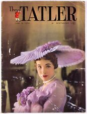 Julie Andrews Cecil Beaton My Fair Lady British fashion magazine THE TATLER vtg