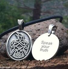 *Celtic Strength RAVEN Limited Edition Pendant Necklace Wiccan Pagan Jewelry CS2