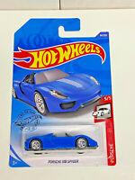 2020 Hot Wheels Porsche Series 5/5 Porsche 918 Spyder Real Riders Super Custom