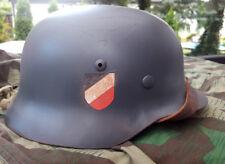 M35 STAHLHELM GERMAN HELMET KRIEGSMARIENE BEST QUALITY ! HELM-FABRIK