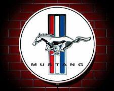 MUSTANG LED 600mm ILLUMINATO APPLIQUE LUCE DA PARETE DISTINTIVO AUTO