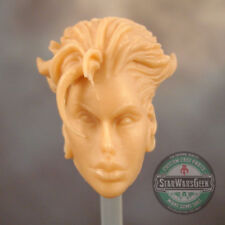 "ML228 Custom Sculpt Cast Female head use w/6"" Marvel Legends"
