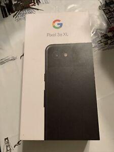 Google Pixel 3a XL 64GB Just Black Single Sim - Sprint Prepaid & Postpaid - New