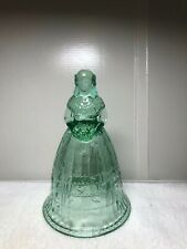 Vintage Imperial Glass Co. Victorian Southern Lady Bell Soft Green Color
