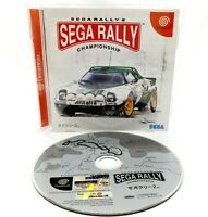 SEGA Dreamcast - Sega Rally 2 Championship - NTSC-J Video Game
