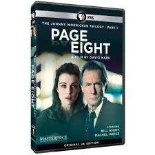Masterpiece Contemporary: Page Eight (DVD,2011) Bill Nighy, Rachel Weisz PBS NEW