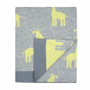 Weegoamigo Hola Knit Blanket Giraffe March