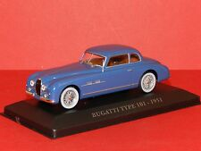 Altaya Models 1/43 Bugatti Type 101 - 1951 Blue MiB