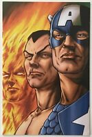 The Marvels Project 1 Virgin Variant Edition 70th Anniversary Marvel Comics 2009