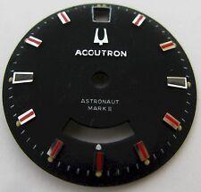Vintage black Dial Accutron Astronaut Mark II near mint, fit 218 serie