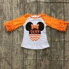 """Girls Minnie Mouse Halloween """"Boo"""" Top Size 5T $13.00 *FREE SHIPPING*"""