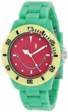 The Original Iconic Smiley Happy Time Watch Colour Block Collection Green