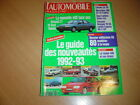 L'automobile N°553 Calibra Turbo 4x4.Fiesta XR2i 16V.TVR Griffith.McLaren F1