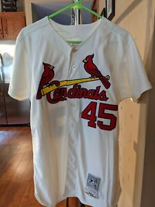 Mitchell & Ness Cooperstown Collection Cardinals Bob Gibson Jersey Mens L (44)
