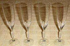 4x Sektkelche ICHENDORF Glashütte - Kristallgläser Sektgläser