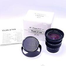Tokina AF 193 19-35mm f3.5-4.5 AF Lens For Minolta M / Sony A Mount
