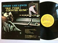 JERRY LEE LEWIS - Ole Tyme Country Music 1970 Vinyl LP Sun 6467020 VG++/NM