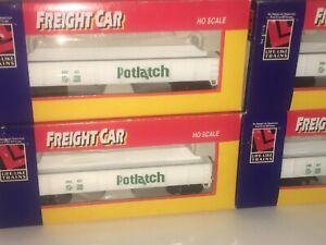 4 Like-Like HO Scale 8581 GON Potlatch Freight Cars