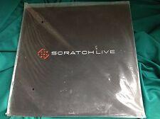 Original 2009 Turntable Tool LP : Scratch ~ Live ~ SCV 12002 Offical Serato