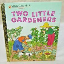 A Little Golden Book Two Little Gardeners