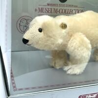 STEIFF POLAR BEAR 0090/11 MUSEUM COLLECTION REPLICA 1909 LIMITED EDITION EUC