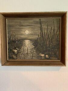 """""""Ocean Night"""" Painting by Carl Lindberg"""