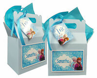 Personalised Disney Frozen Birthday Party Favour Sweets Lunch Gift Box/Bag