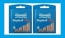 Wilkinson Sword Duplo II Plus Klingen 20 Stück 2x 10