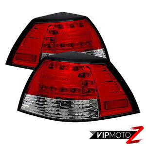 Pontiac G8 08-09 GT Sedan 4DR RED/CLEAR LED Signal Brake Lamp Tail Light LH+RH