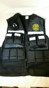 GOLDS GYM WEIGHTED Workout Exercise VEST - Adjustable - Total Weight - 20 POUNDS