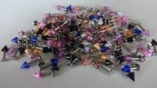 Acryl Spikes  SET 20 x LABRET LIPPE 316L  Motive 5 mm  STAB 1,6 x 8 mm  MIX LIP