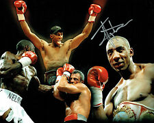 Johnny NELSON Signed 10x8 Autograph Montage Photo AFTAL COA SHEFFIELD BOXER