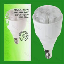 10x R50 9W SES Low Energy Reflector CFL Bulbs, Low Energy Spot Light Lamp E14