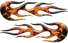 """Classic Style Motorcycle Car Truck Flame Decals Inferno 12"""" REFLECTIVE FL20"""