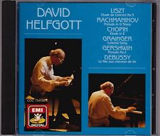 David Helfgott - Liszt - Rachmaninov - Chopin - CD (EMI CDC7541352 1990)