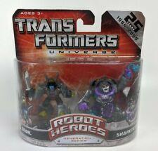 Transformers Universo Robot Héroes 2-pack Snarl Vs Sharkticon 25th Aniversario