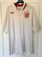 7ef9b6396 2012/2014 England home football shirt Umbro large men's Three Lions World  Cup