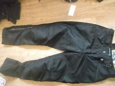 Genuine BMW Motorrad el flujo de aire 11 para mujer Pantalones Negro Cintura de 28 pulgadas de tamaño 12