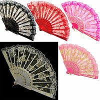 Chinese Style Foldable Wing Chun Hand Fan Ladies Dancing Party Ball Accessories