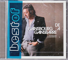 CD 23T SERGE GAINSBOURG DE GAINSBOURG A GAINSBARRE feat BARDOT NEUF SCELLE 2004