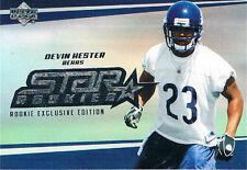DEVIN HESTER'S 2006 UPPER DECK STAR ROOKIE  CARD # 244