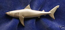 Empire Pewter Great White Shark Pin