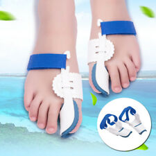 2Pair Toe Corrector Hallux Valgus Orthopedic Night Bon Bunion Straightener Brace