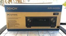 Denon AVR-X4300H 9.2 Channel Full 4K Ultra HD AV Receiver with HEOS - NEW