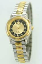 Dufonte Lucien Piccard Unisex Watch Stainless Silver Gold Water Re Black Quartz