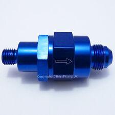 AN-6 a M12x1.5 azul de una manera Válvula de Retención Sin Retorno Bosch 044 bomba de combustible efi