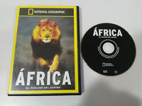 AFRICA EL PARAISO DEL ESPINO NATIONAL GEOGRAPHIC DVD ESPAÑOL ENGLISH REGION 2-4