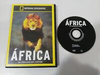 AFRICA EL PARAISO DEL ESPINO NATIONAL GEOGRAPHIC DVD ESPAÑOL ENGLISH REGION 2-4
