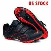 Professional Men Cycling Shoes Breathable Mtb Bike Triathlon Sneakers Spd Cleats